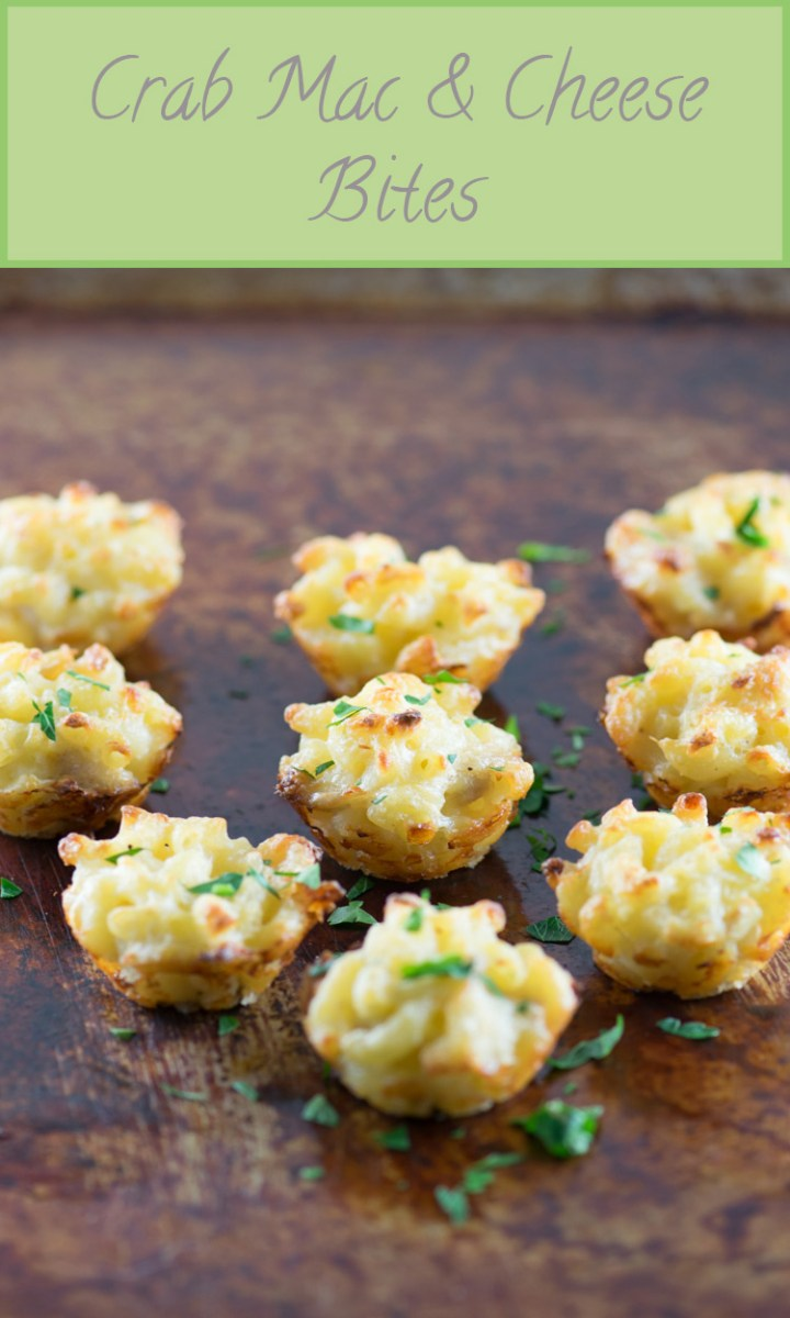 Crab Mac & Cheese Bites