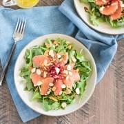 Pomegranate & Grapefruit Winter Salad