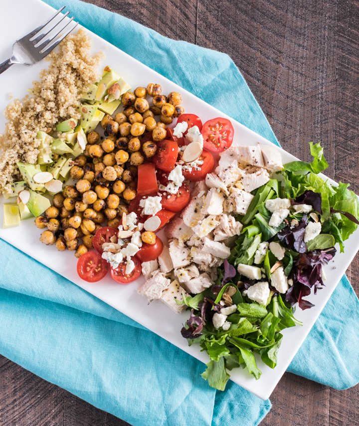 Quinoa Chopped Salad