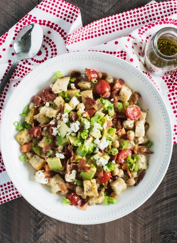 Summer Panzanella (Bread) Salad