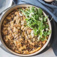 Caramelized Onion Frittata