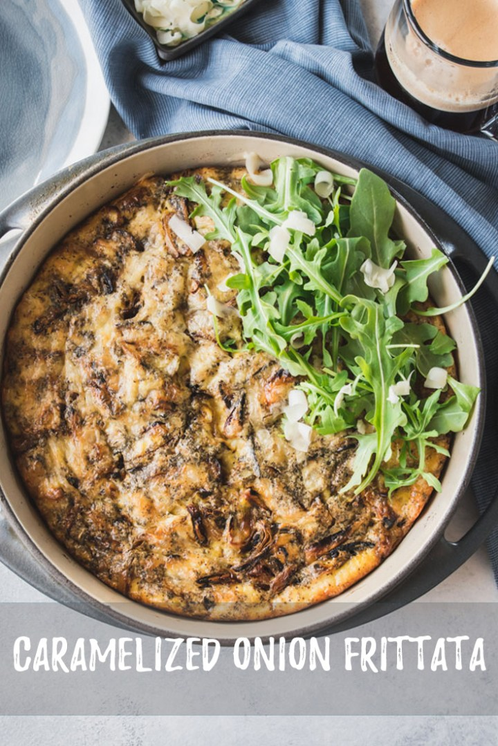 This frittata gets an added flavor boost with a good dose of caramelized onions, making it a big hit for weekend brunches as well as special occasions.