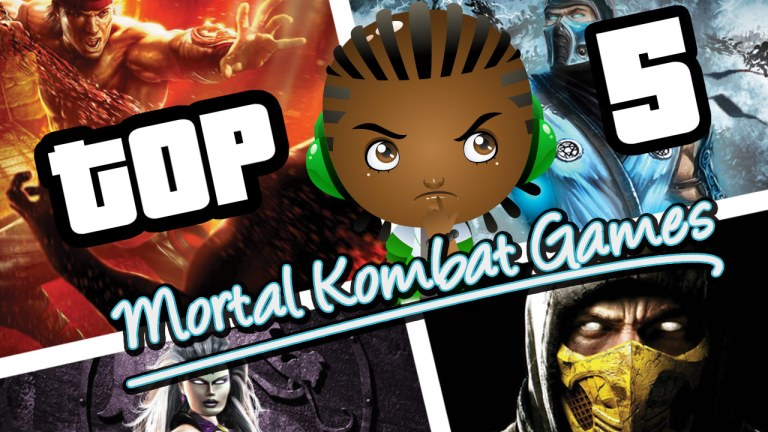 Top 5 Mortal Kombat Games of ALL TIME!!!!