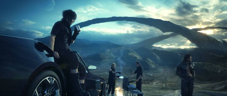 Final Fantasy 15 Update: Playable All Throughout Final Fantasy 15 Update: Playable All Throughout Final Fantasy 15 Update: Playable All Throughout Final Fantasy XV TGS 2014 3