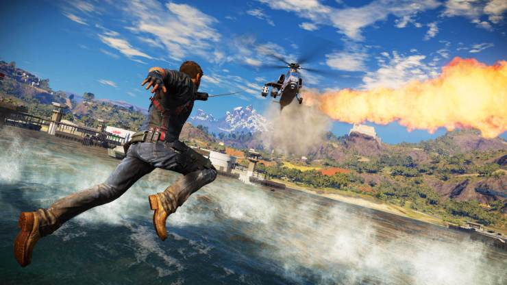 Just Cause 3's Map Is Insanely Huge