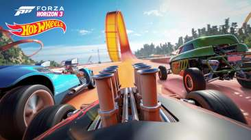 Forza Horizon 3 Hot Wheels Racetrack View