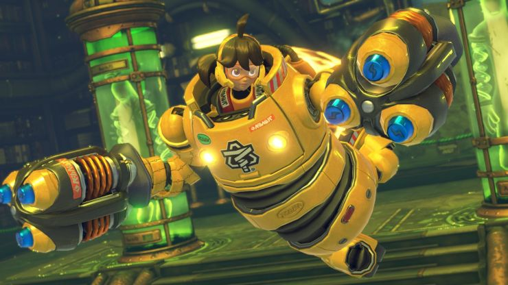 Best Fighting Games of 2017 best fighting games of 2017 Best Fighting Games of 2017 arms mechanica gameplay