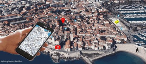 Rallye Urbain GPS evjf evg Antibes
