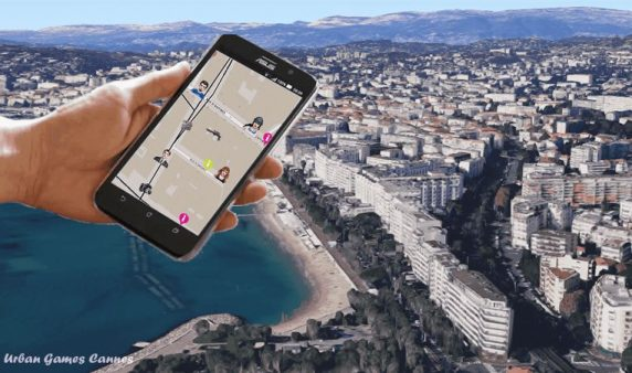 Rallye urbain à Cannes