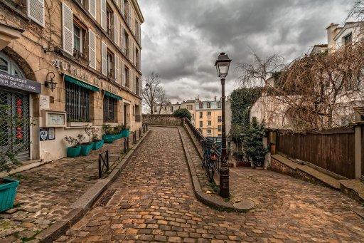 rallye à Montmartre