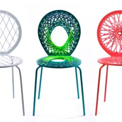 Woven Plastic Garden Chairs Bamboo Side Chair Offer Color And Texture Urban Gardens Since
