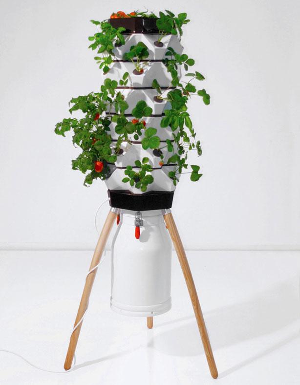 fogponic vertical garden system urban gardens. Black Bedroom Furniture Sets. Home Design Ideas