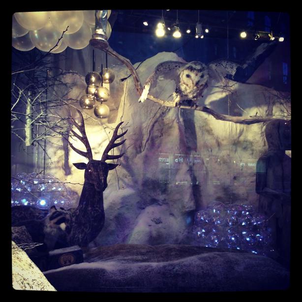 NYC slightly creepy Holiday Season display