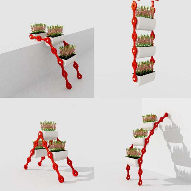pflsk sistema de jardinagem vertical modular