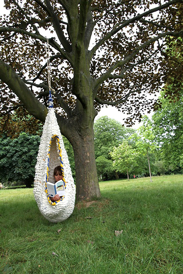 Urban-Retreat-wool-woven-outdoor-swings