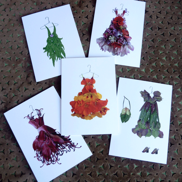 horticouture-dress-sandra-alcorn-greeting-cards-urbangardensweb