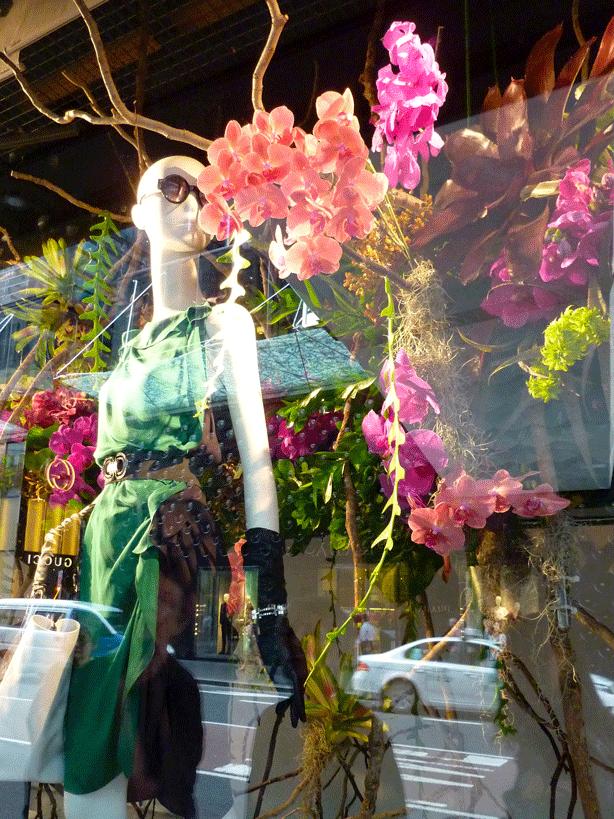 sydney-david-jones-department-store-flower-show-horticouture-dress-sandra-alcorn