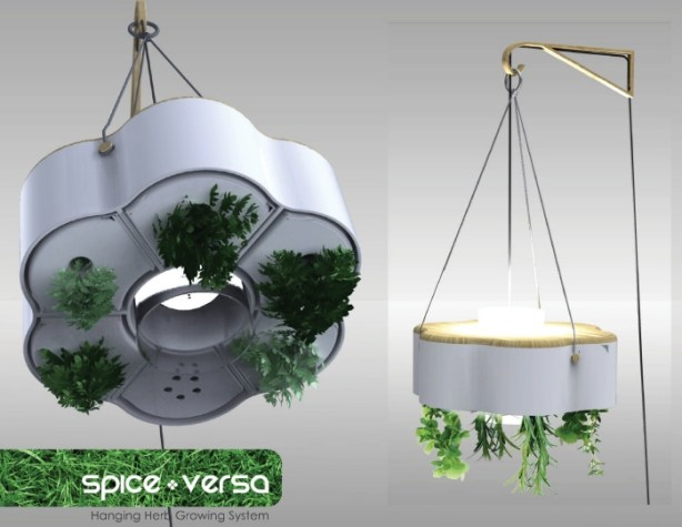Hydroponic Indoor Herb Garden Spice Versa