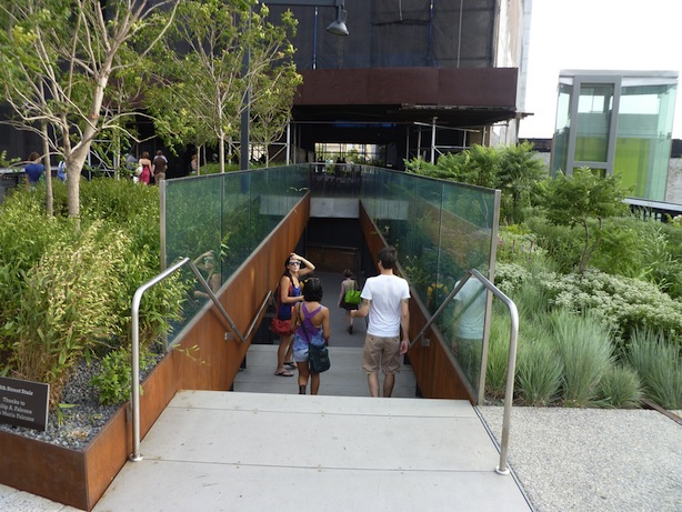 High Line 10th Ave Stairs Reston2020