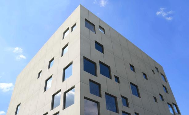 exterior-facade-architecture-solid-surface-Dekton-at-Salone-del-Mobile-2014