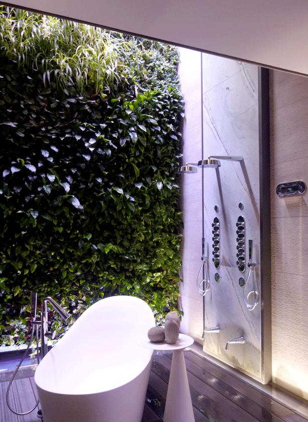 Gessi Outdoor Indoor Garden Bathroom Urban Gardens