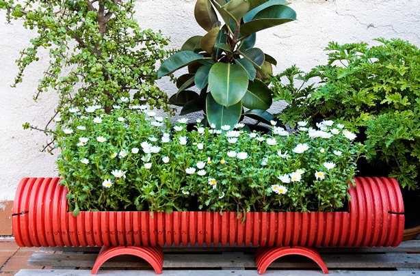 tubi-recycled-pvc-pipe-planter