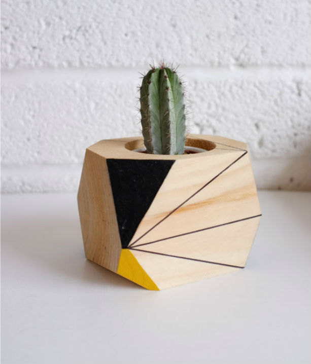 Wooden Plant Pot An Urban Gardens roundup