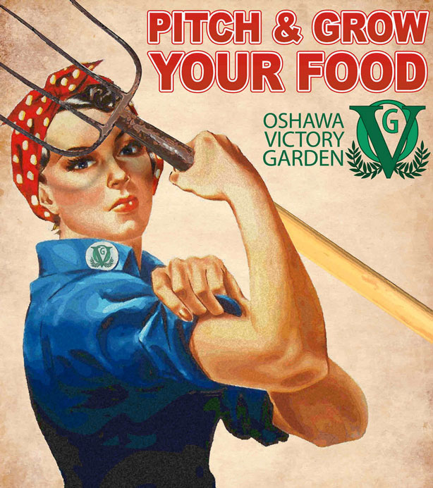 Victory Garden Call to Action Poster
