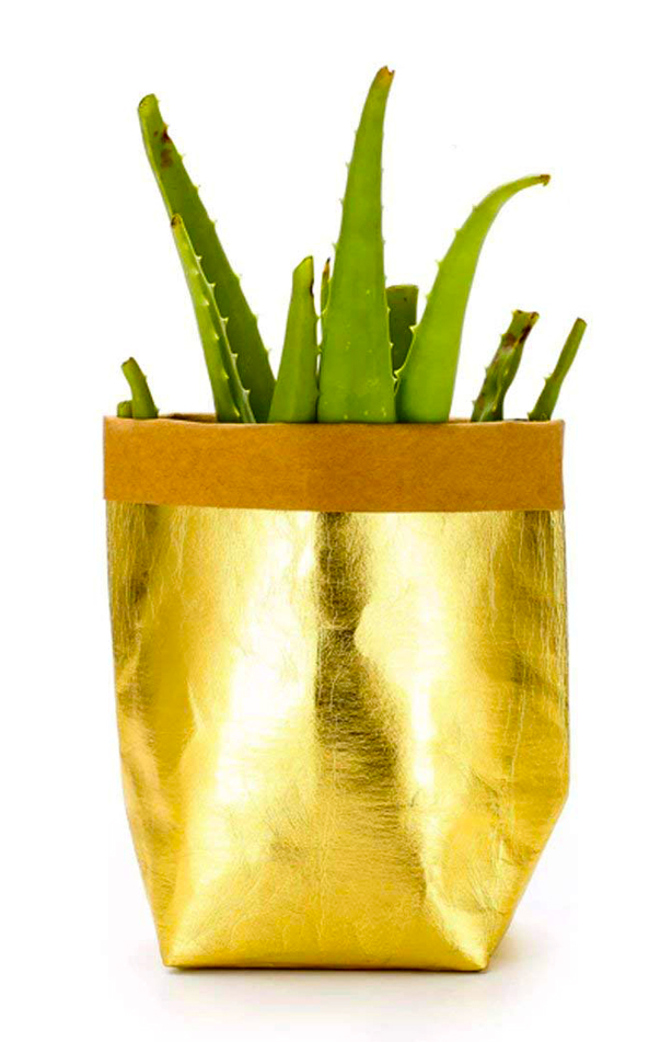 metallic_kraft_washable_paper_bag_planter