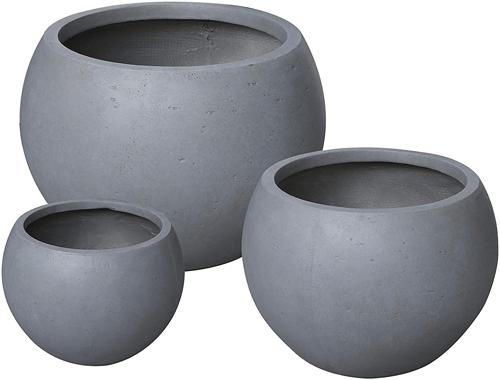 round_fiberstone_outdoor_planters