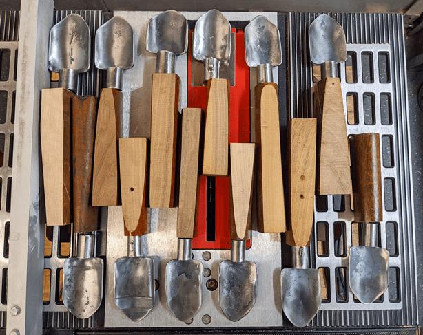 Blacksmiths Forge Peace Turning Guns Into Garden Tools - Urban Gardens