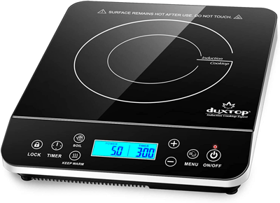 portable induction cooktop for outdoors