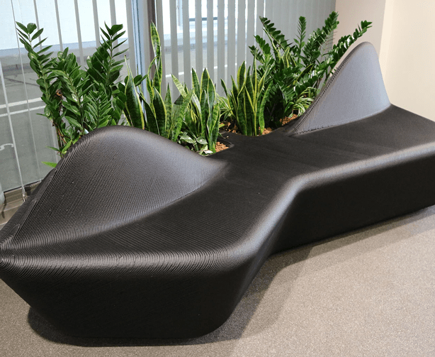 clear rivers recycled plastic waste seating