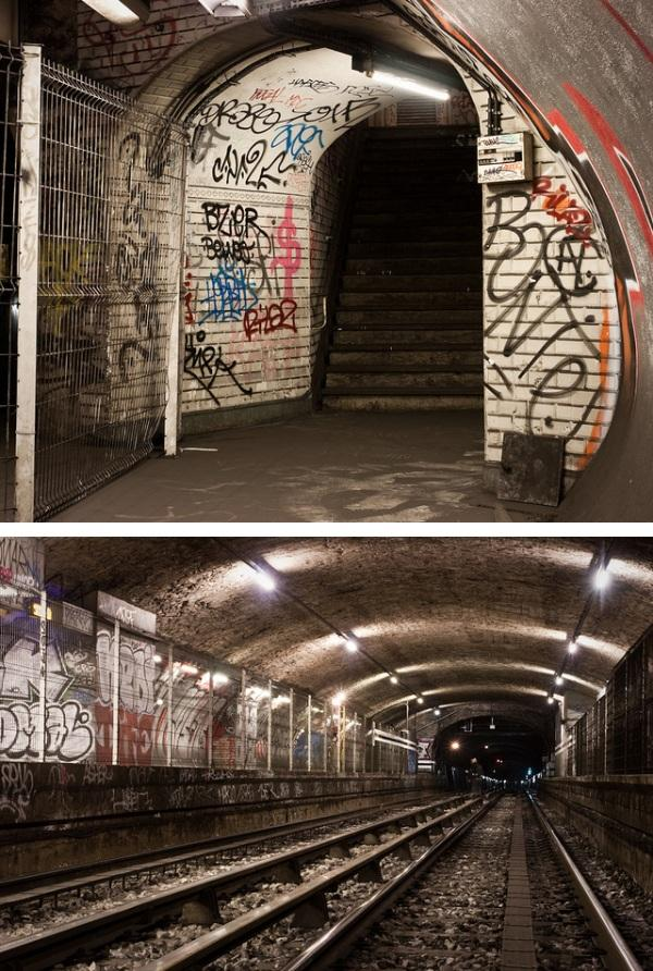 Exploring the Paris Metros Eerie Ghost Stations  Urban