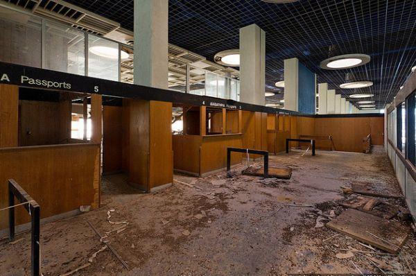 Infiltrating Nicosias Abandoned International Airport