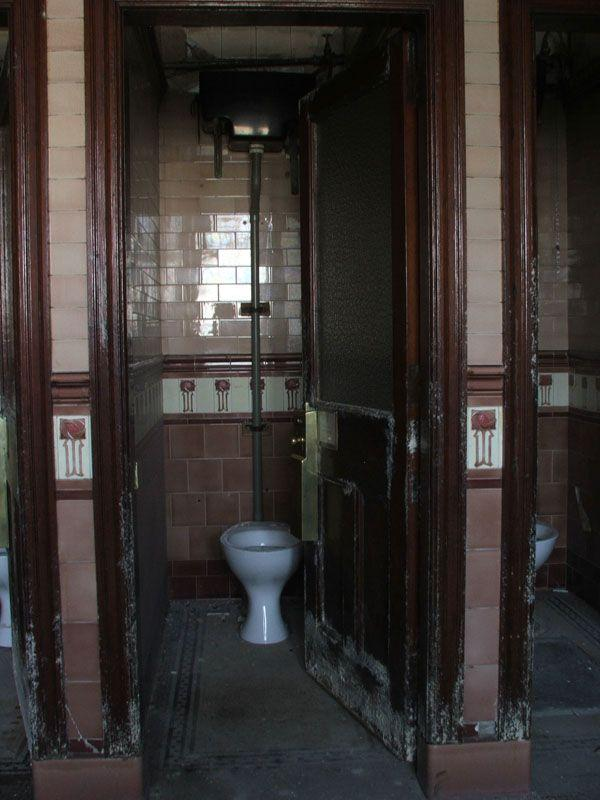 Abandoned Victorian Toilets at Union Terrace Gardens