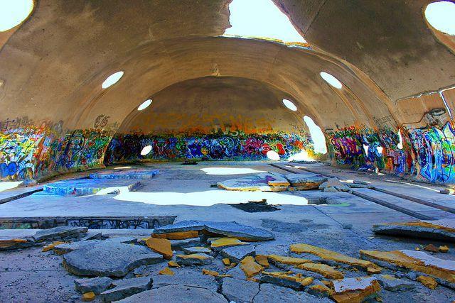 The Weird Abandoned Domes of Casa Grande Arizona  Urban