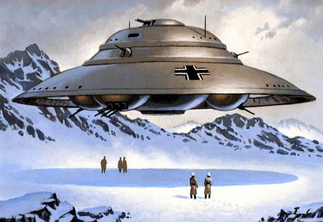 Image result for Nazi ufos