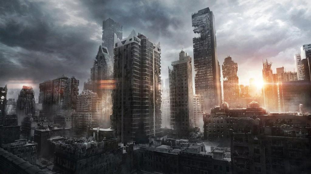 Divergent Drawing City