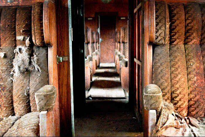 sofa company nl 2 seater bed melbourne abandoned orient express train in belgium - urban ghosts