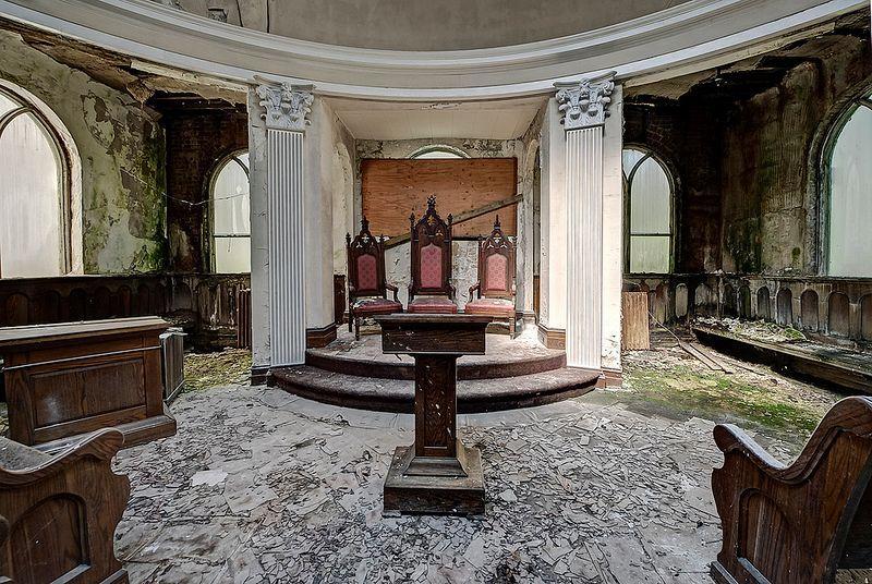 An Abandoned Masonic Temple  Urban Ghosts Media
