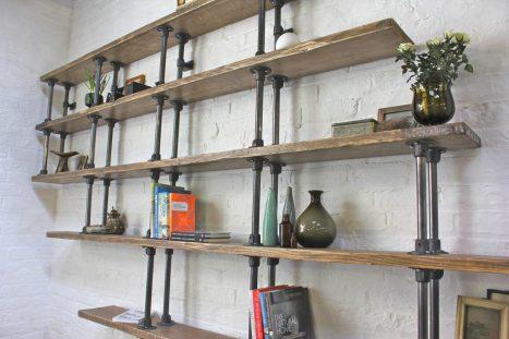 Shelving Urban Grain Bespoke Industrial Furniture