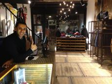 Karim will assist you with a smile and genuine style recommendations