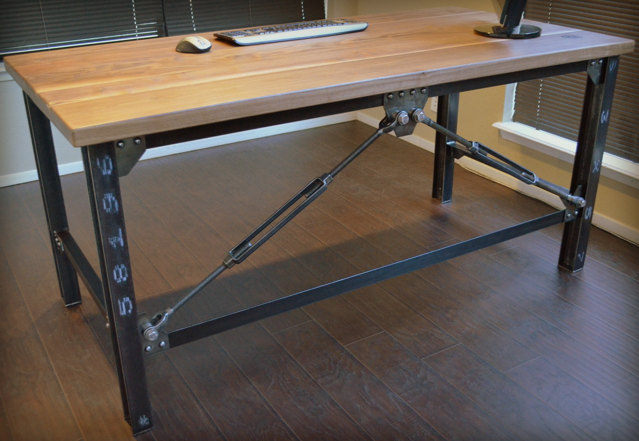 desk chair industrial pads kitchen  lm urban works