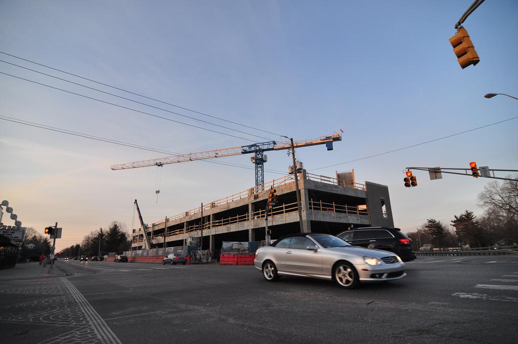 Broad Ripple Parking Garage Construction Update 2  Urban Indy