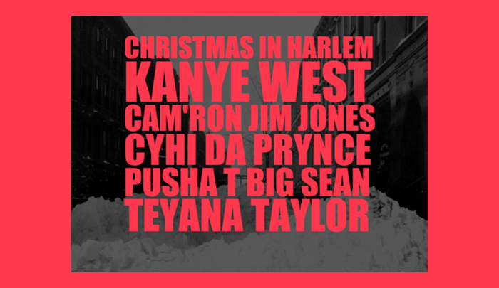 Kanye West Christmas In Harlem.Christmas In Harlem Kanye West Cyhi The Prynce Teyana Talor