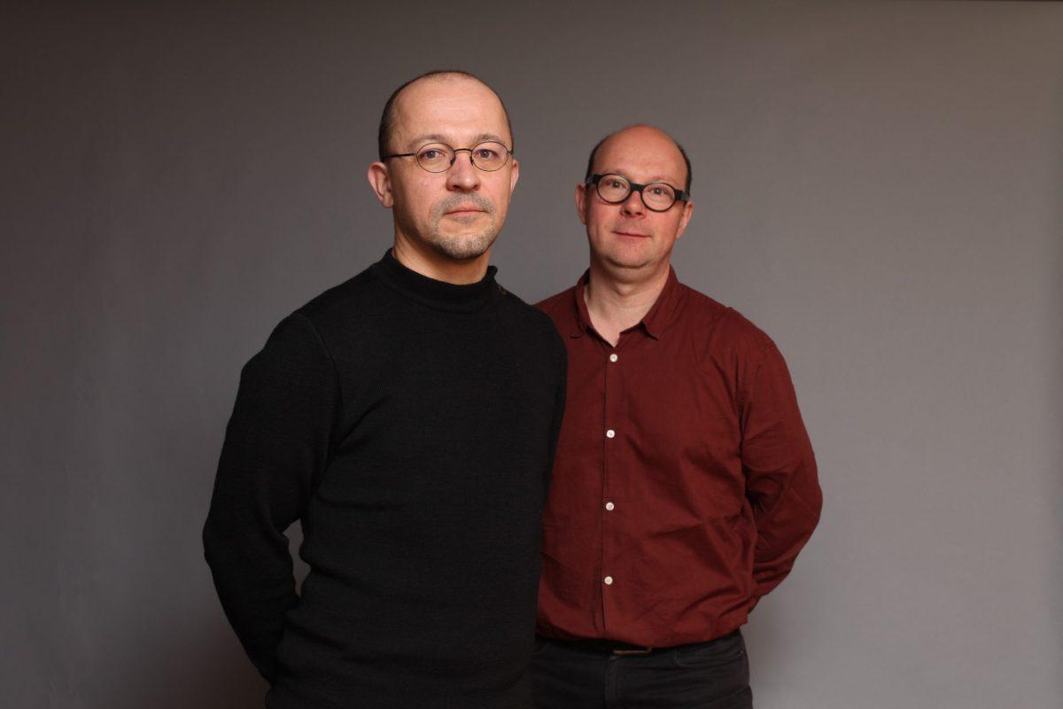 Laurent Lebot et Victor Massip © Faltazi