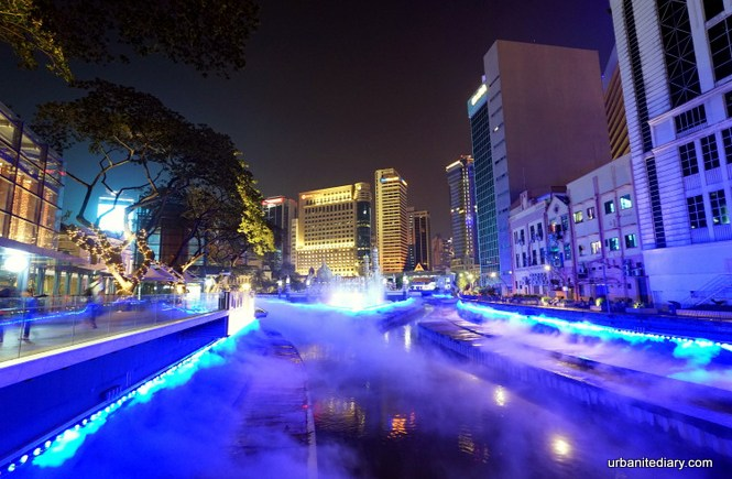 Masjid Jamek, Blue Pool and the River of Life