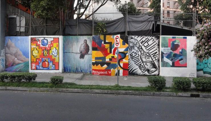 Johannes Mundinger, LuciaRevilla, Alaniz and Mernywernz. Mexico City (2017)