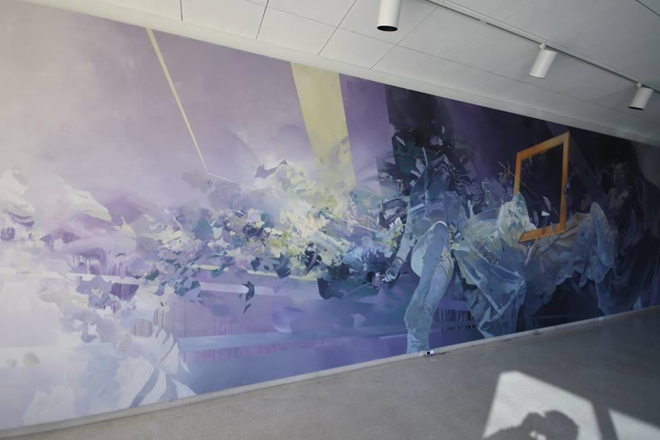 Stunning mural by Robert Proch in Glendale, California